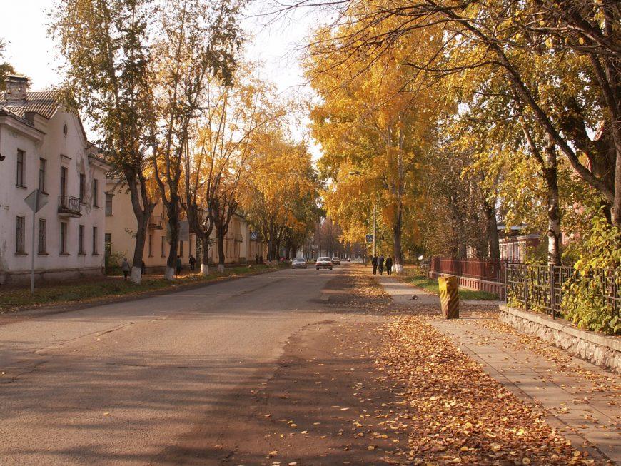 Осень в Глазове