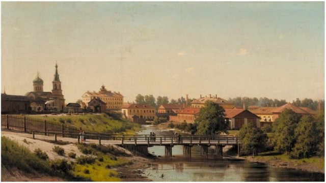 Таким увидел Мелекесс 150 лет назад художник  П.П. Верещагин