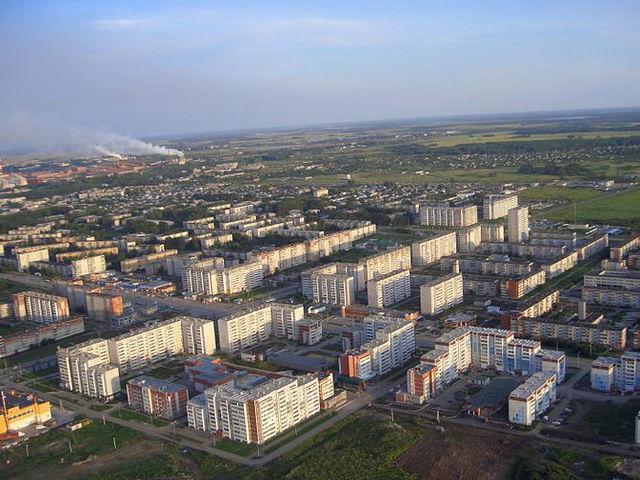 Каменск-Уральский с высоты