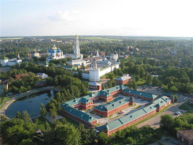 Вот так выглядит город с высоты