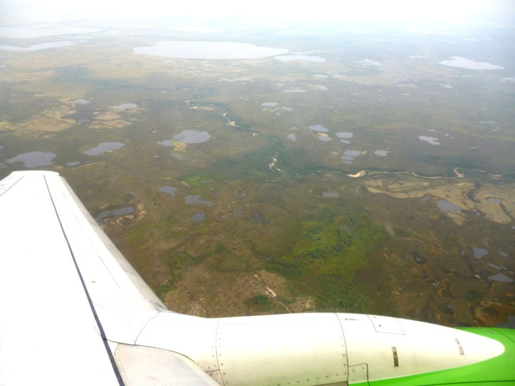 Вид с самолета
