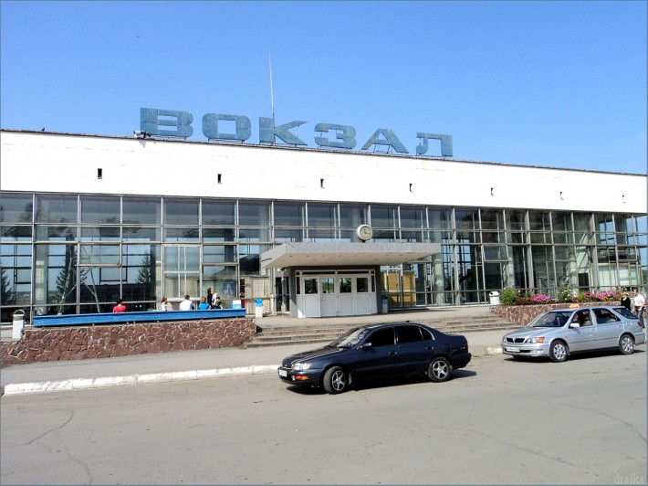 Железнодорожный вокзал Ачинска