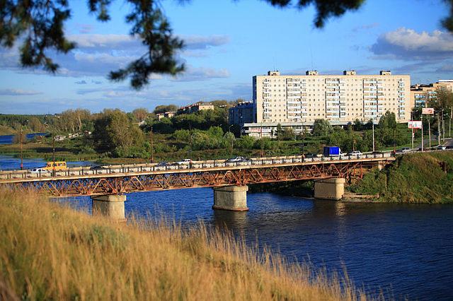 Мост, соединяющий районы города