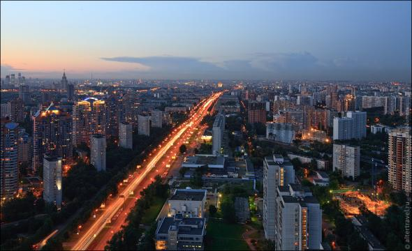Москва. ЮЗАО