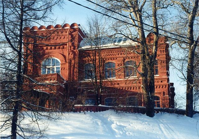 Музей игрушек зимой