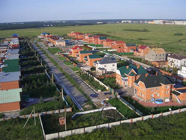 Коттеджный поселок в Каменском