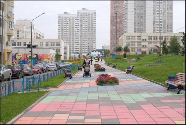 Дворы Обручевского района