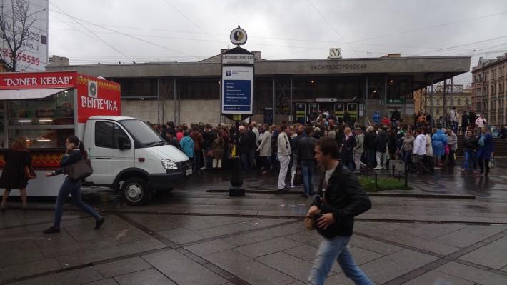 Станция Василеостровская