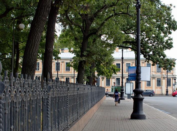 Ограда Румянцевского сада