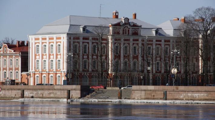 Здание Двенадцати коллегий - Санкт-Петербургский университет