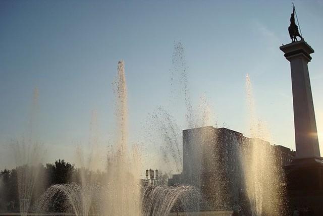 Рязань. Памятник Геогрию Победоносцу