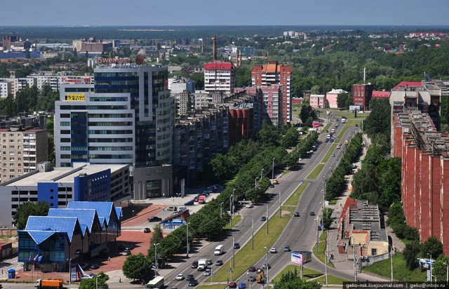 Московский проспект. Вид на запад
