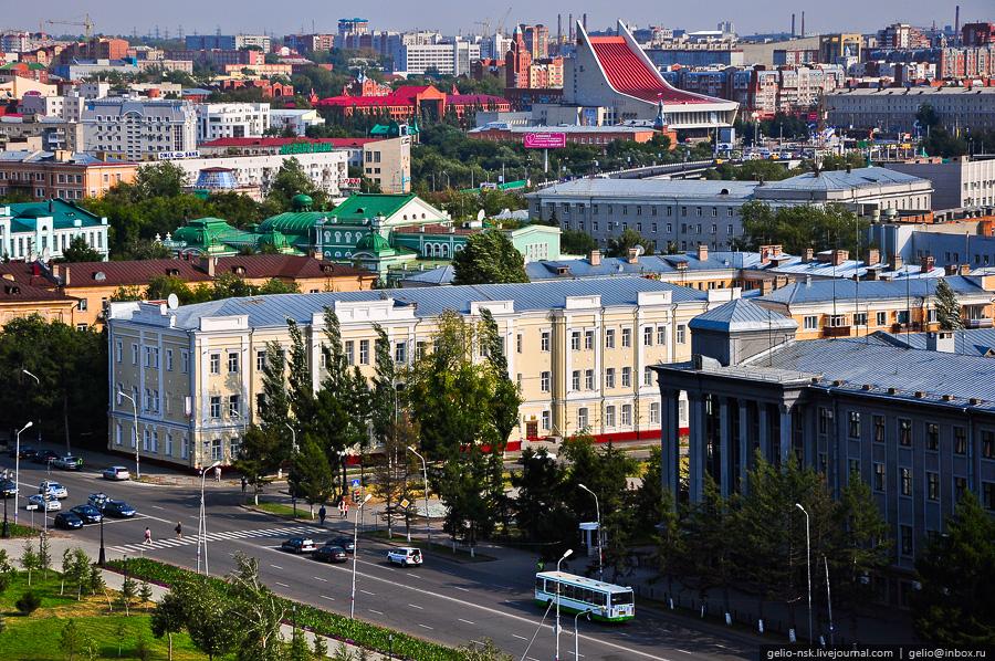 Пересечение ул. Ленина и Тарской