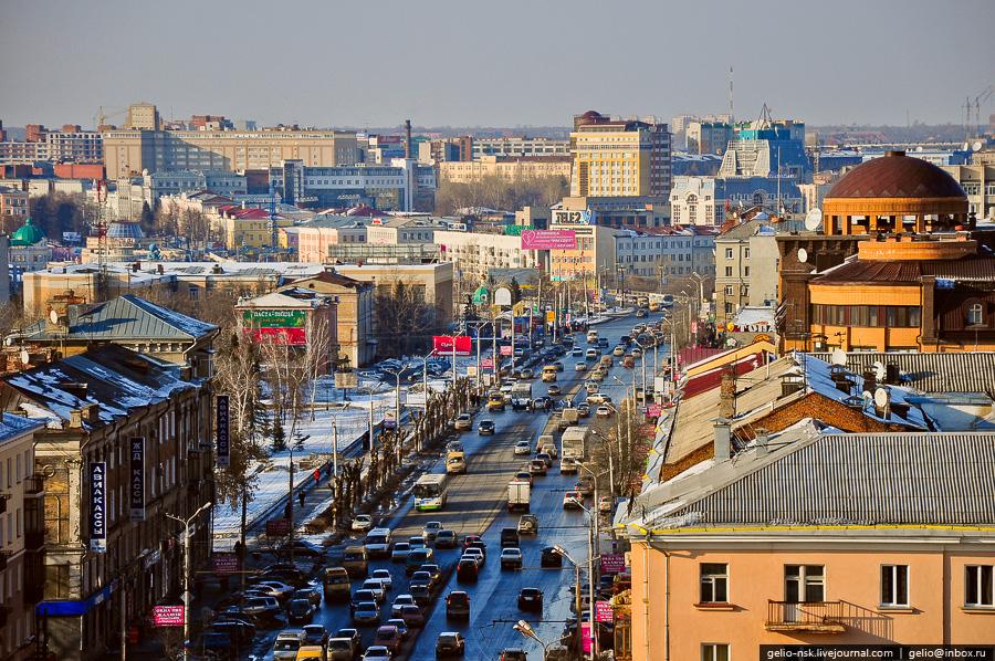 Проспект Маркса. Вид на север