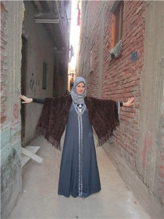 Типичная египетская девушка