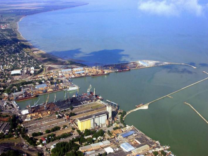 Ейск. Морской порт