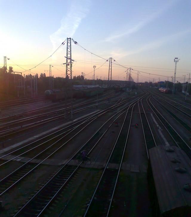 Тихорецк. ЖД станция