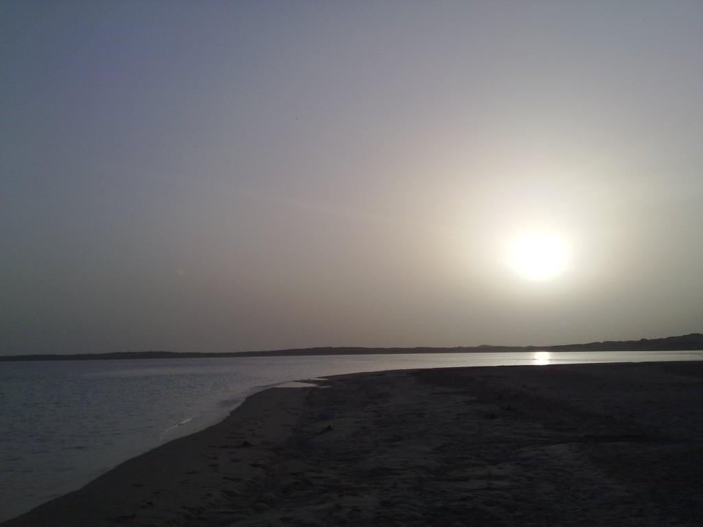 Ночное море Египта