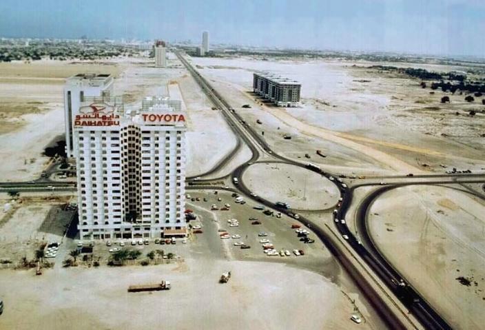 Дубай, 40 лет назад.