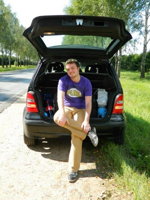 Мужу нравится в Чехии. Ему нравится везде, где можно ездить на природу жарить шашлыки.