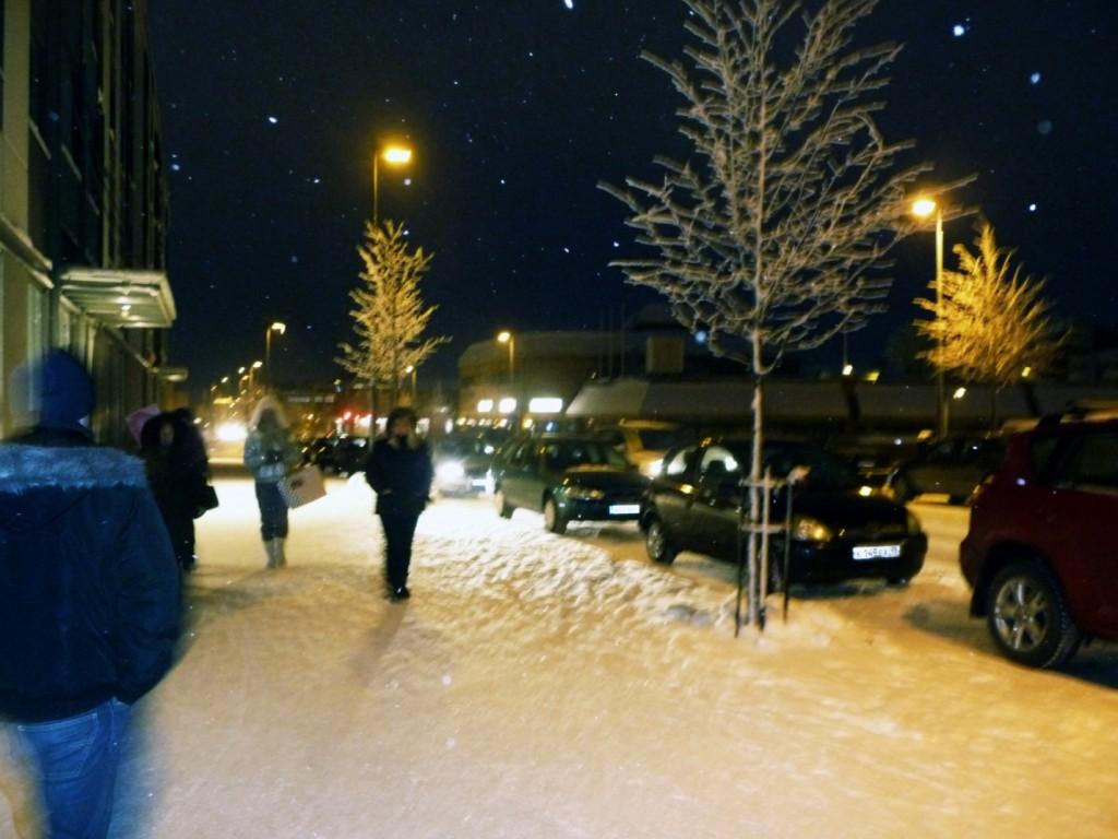 Улицы финского городка
