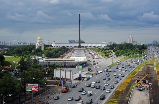 Кутузовский проспект и Парк Победы