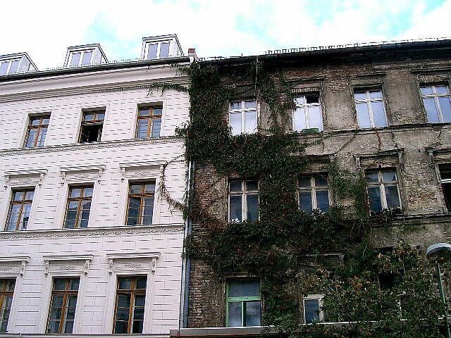 Многоэтажные дома в Восточной Германии