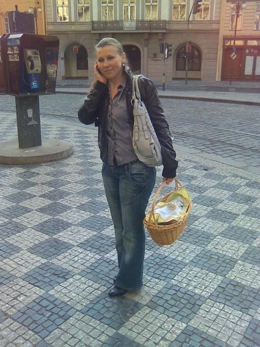В Праге меня легко можно спутать с бизнес-леди