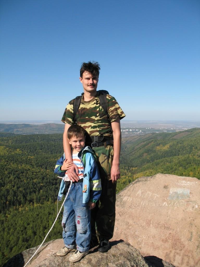 Илья и Дима на Первом Столбе