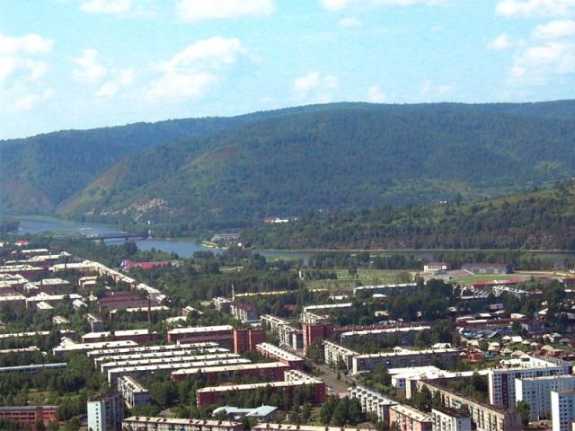 Междуреченск. Западный район