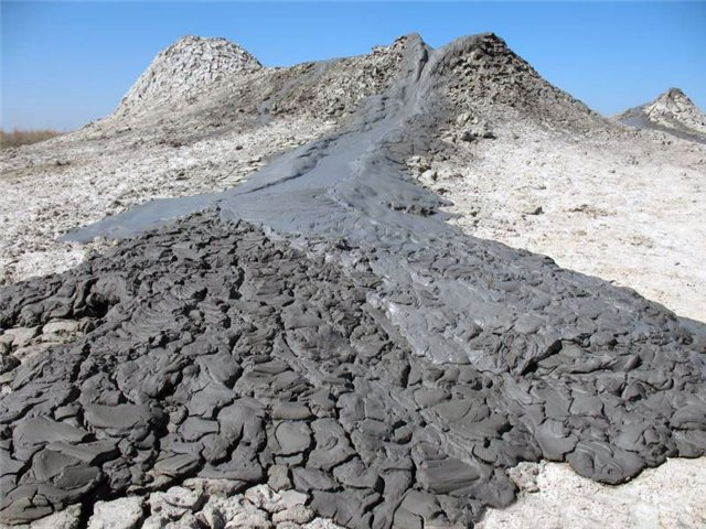 Грязевой вулкан на Гнилой горе
