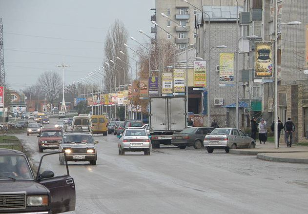 Дорожное покрытие в городе