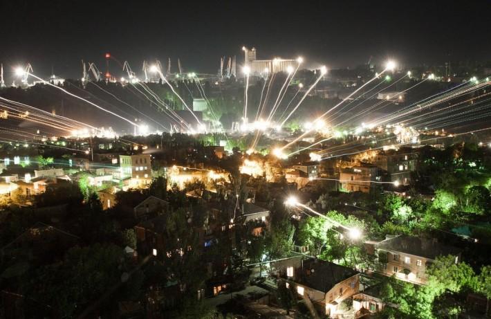 Ночной Ейск, Купеческий город