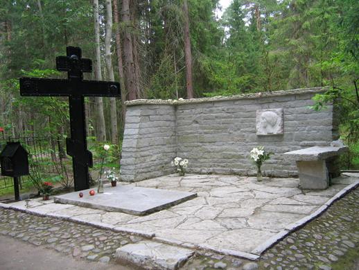 могила Ахматовой
