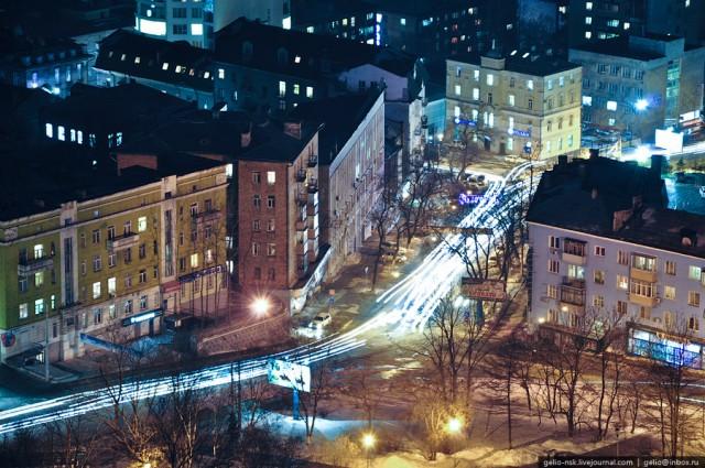 Улица Суханова. Сквер им. Суханова