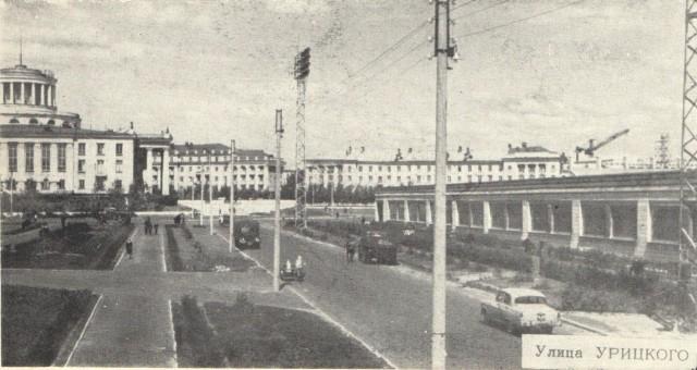 Дзержинск. Улица Укрицкого в 60-е годы ХХ века