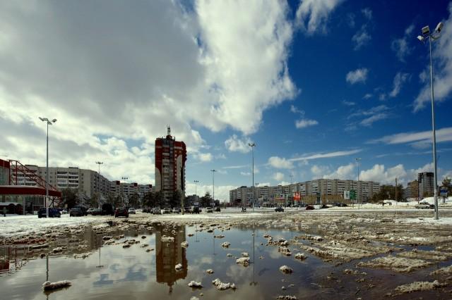 Дзержинск. Весна