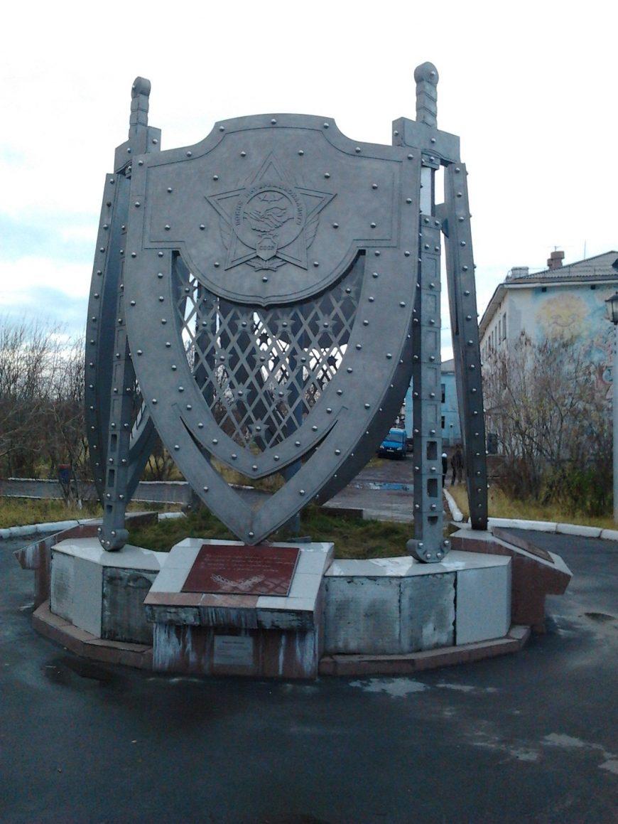 Памятник погибшим в Афгане
