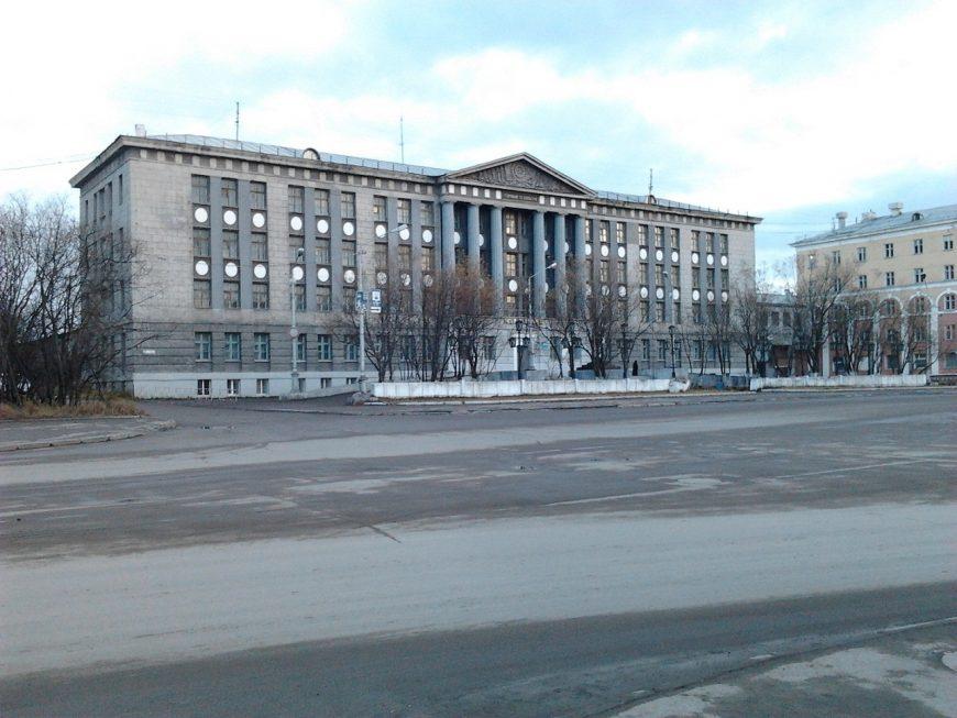 Воркутинский горный техникум, то есть колледж (теперь его так называют)