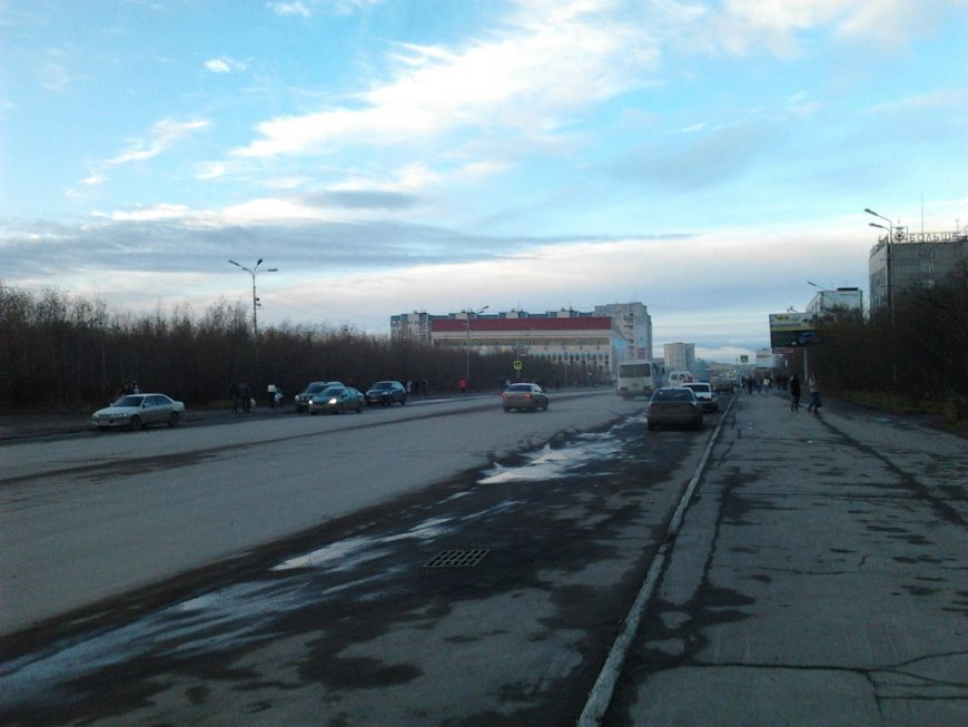 ул.Ленина с видом на Олимп