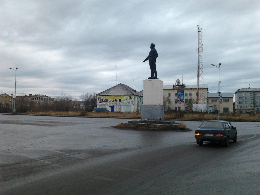 Памятник Кирову, пл.Кирова