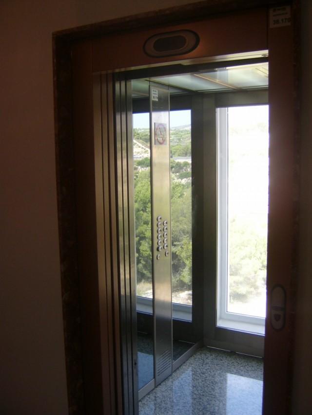 Входим в дом Это лифт!
