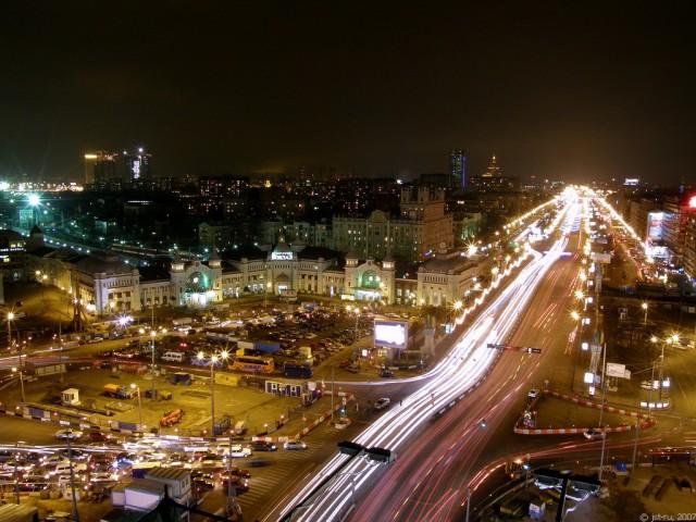 Здесь, за площадью Белорусского вокзала, начинается САО