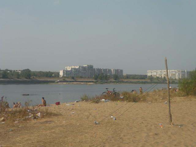 Вот так в реальности выглядит городской пляж