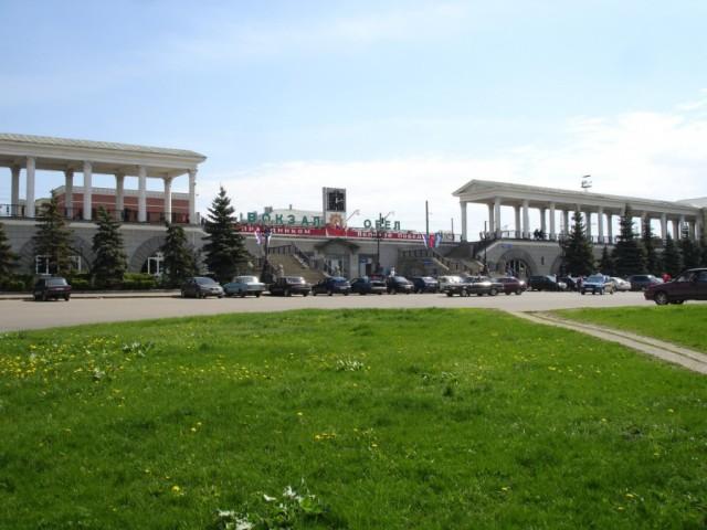 ЖД вокзал города Орла