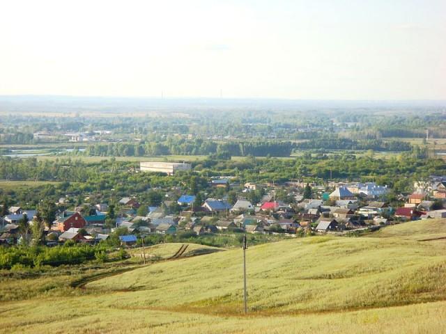 Ишимбай. Микрорайон Перегонный