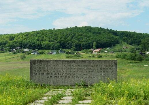Памятник крейсеру «Аврора», Дудергофские высоты