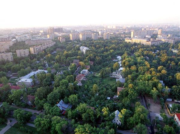 Поселок художников: город-сад посреди мегаполиса