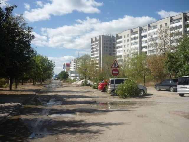 Примерно так выглядят дороги в городе
