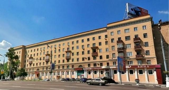 «Испанский дом» - сталинка на Варшавском шоссе